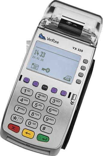 fiskalPro VX520-registračná pokladnica/fiskal + terminál
