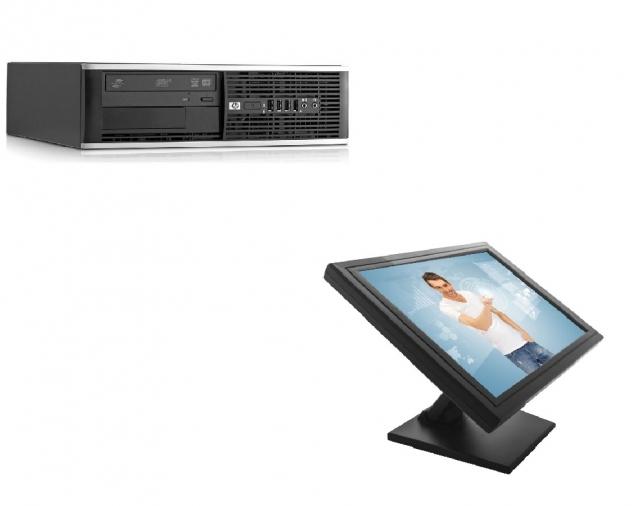 POS zostava HP Compaq Pro 6300 SFF + LCD TouchScreen 1503M