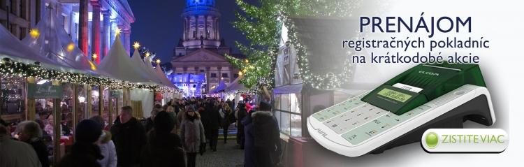 Prenájom registračných pokladníc v Bratislave a Prešove