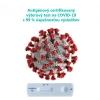 Antigénový test - certifikovaný výterový test na COVID-19