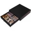 Peňažná zásuvka MK-418, 8B/8M, čierna, š410 x h420 x v110 mm