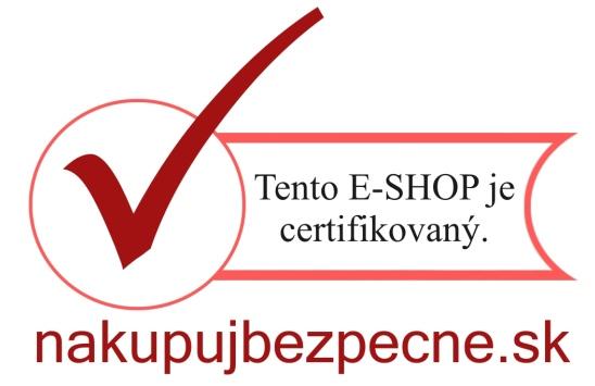 Tento e-shop je certifikovaný